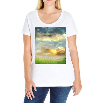 Beyond The Truth And Lies Ladies Curvy T-shirt Designed By Sufiyan67