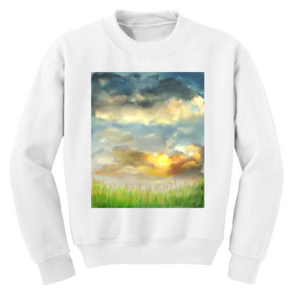 Beyond The Truth And Lies Youth Sweatshirt Designed By Sufiyan67