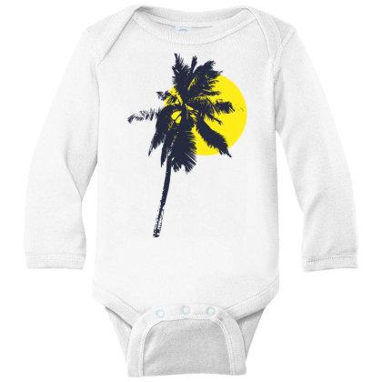 Sun Rise T Shirt Long Sleeve Baby Bodysuit Designed By V8 Visuals