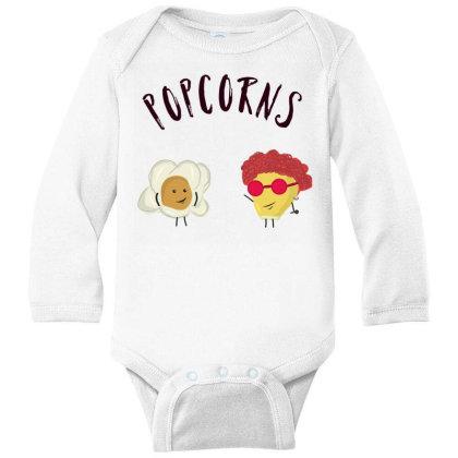 Popcorns Long Sleeve Baby Bodysuit Designed By Sswt_here