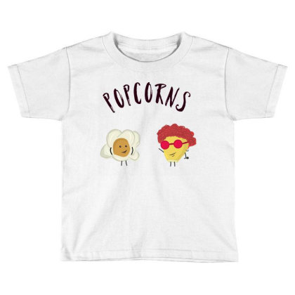 Popcorns Toddler T-shirt Designed By Sswt_here