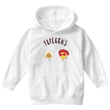 Popcorns Youth Hoodie Designed By Sswt_here
