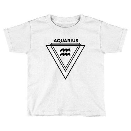 Aquarius Zodiac Toddler T-shirt Designed By Cloudystars