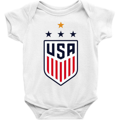 Uswnt Baby Bodysuit Designed By Star Store