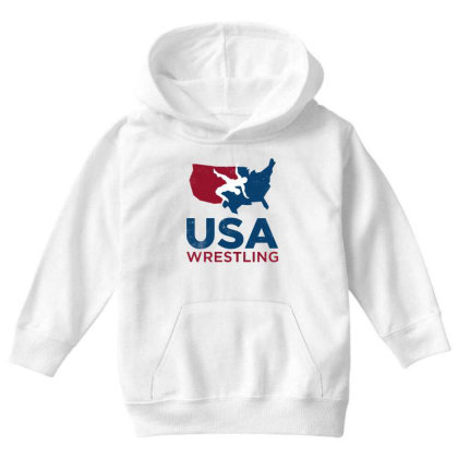 Usa Wrestling Vintage Youth Hoodie Designed By Star Store