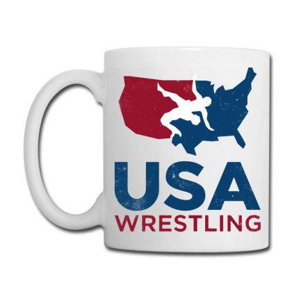 Usa Wrestling Vintage Coffee Mug Designed By Star Store