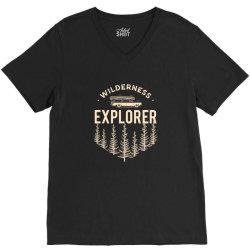 Wildness Explorer V-Neck Tee   Artistshot