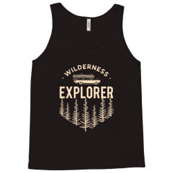 Wildness Explorer Tank Top   Artistshot