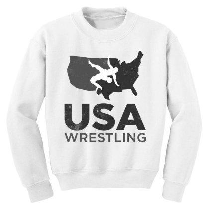 Usa Wrestling Vintage Dark Youth Sweatshirt Designed By Star Store