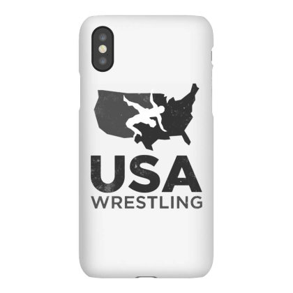 Usa Wrestling Vintage Dark Iphonex Case Designed By Star Store
