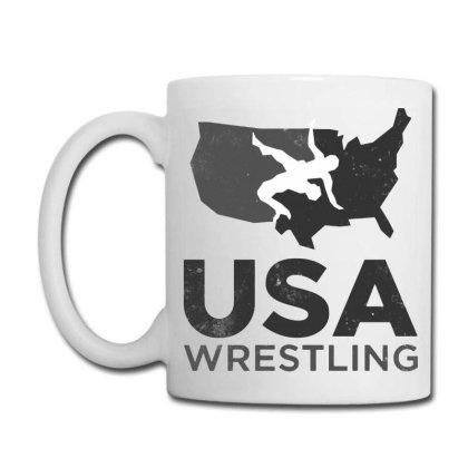 Usa Wrestling Vintage Dark Coffee Mug Designed By Star Store