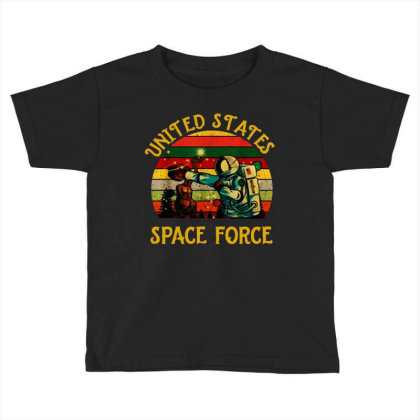 United States Space Force Vintage Toddler T-shirt Designed By Star Store