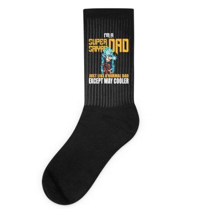 Dragon Ball Super Saiyan Dad Socks Designed By Viral Style