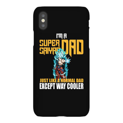 Dragon Ball Super Saiyan Dad Iphonex Case Designed By Viral Style