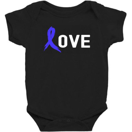 Love - Colon Cancer Baby Bodysuit Designed By Viral Style