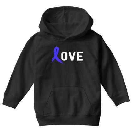 Love - Colon Cancer Youth Hoodie Designed By Viral Style