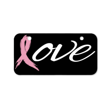 Breast Cancer Awareness Bicycle License Plate Designed By Black Box