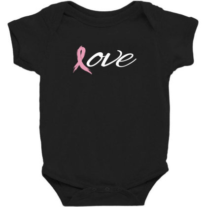 Breast Cancer Awareness Baby Bodysuit Designed By Black Box