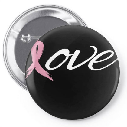 Breast Cancer Awareness Pin-back Button Designed By Black Box