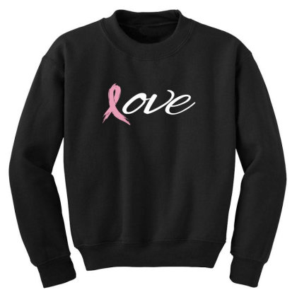Breast Cancer Awareness Youth Sweatshirt Designed By Black Box