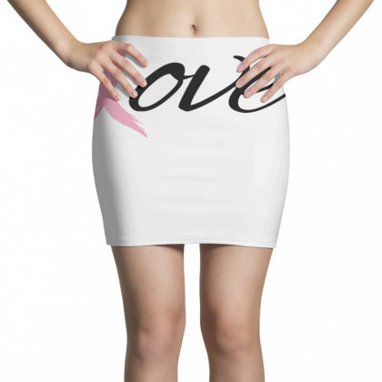 Breast Cancer Awareness - Love Mini Skirts Designed By Black Box