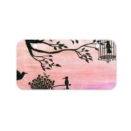 Cycle Silhouette Painting Bicycle License Plate Designed By Xee_fay