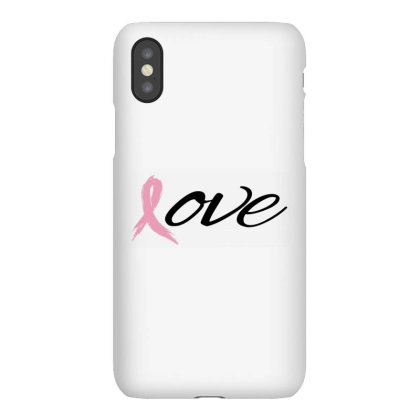 Breast Cancer Awareness - Love Iphonex Case Designed By Black Box