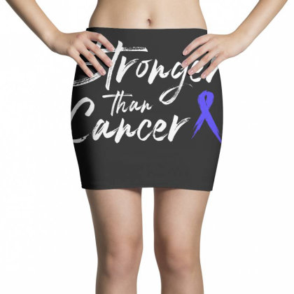 Stronger Than Cancer - Colon Cancer Survivor Mini Skirts Designed By Meza Design