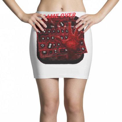 Game Over Mini Skirts Designed By Killer Artist