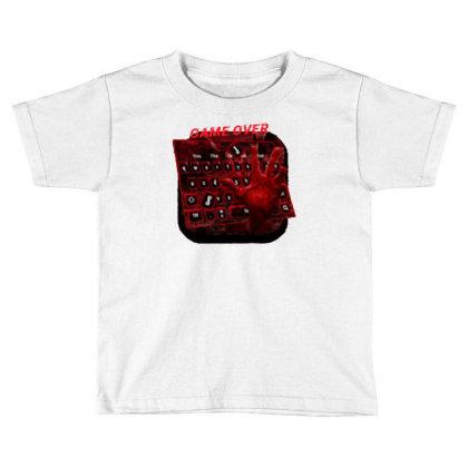 Game Over Toddler T-shirt Designed By Killer Artist