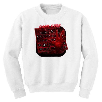 Game Over Youth Sweatshirt Designed By Killer Artist