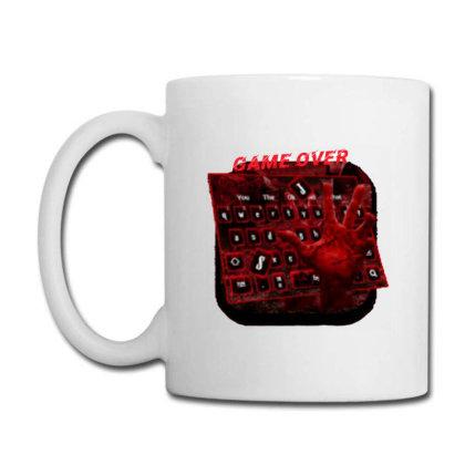 Game Over Coffee Mug Designed By Killer Artist