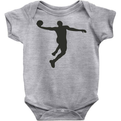 Basketball Player Baby Bodysuit Designed By Jigii