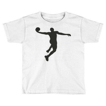 Basketball Player Toddler T-shirt Designed By Jigii