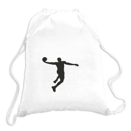 Basketball Player Drawstring Bags Designed By Jigii