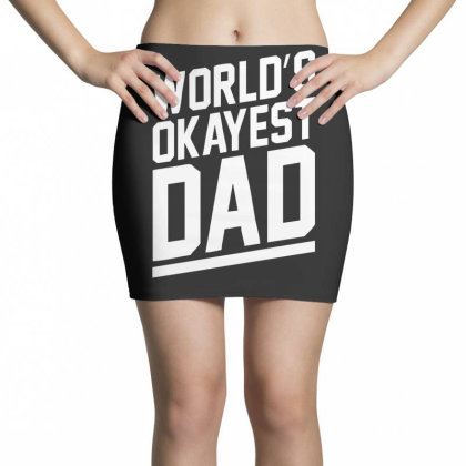 World's Okayest Dad Funny Mini Skirts Designed By Lyly