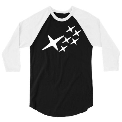 Wrx Stars 3/4 Sleeve Shirt Designed By Lyly