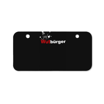Wutbürger Bicycle License Plate Designed By Lyly