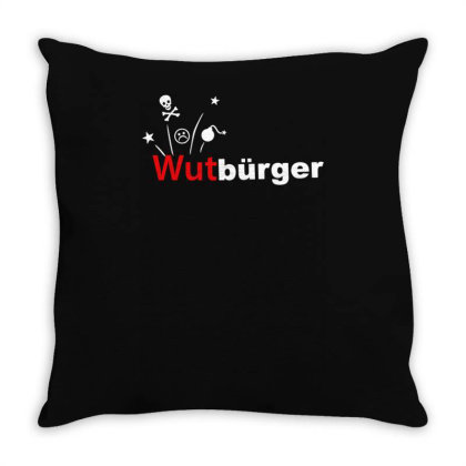 Wutbürger Throw Pillow Designed By Lyly