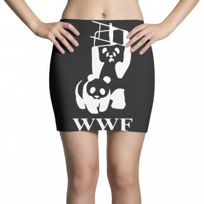 Wwf Panda   Mens Funny Mini Skirts Designed By Lyly