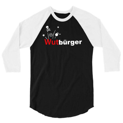 Wutbürger 3/4 Sleeve Shirt Designed By Lyly
