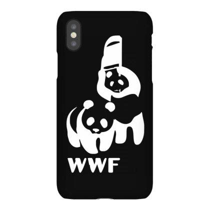 Wwf Funny Panda Bear Funny Banksy Wrestling Iphonex Case Designed By Lyly