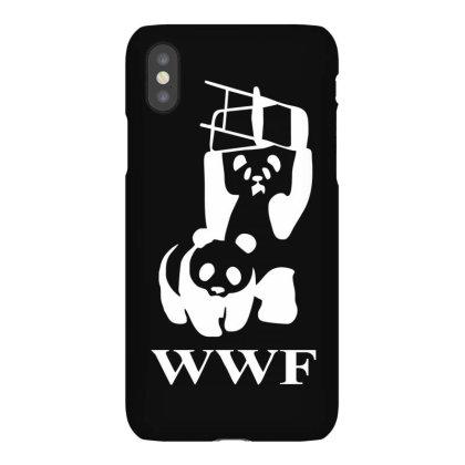 Wwf Panda   Mens Funny Iphonex Case Designed By Lyly