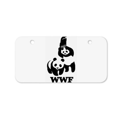 Wwf Panda Bicycle License Plate Designed By Lyly