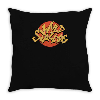 Wyld Stallyns By Pointingmonkey Throw Pillow Designed By Lyly