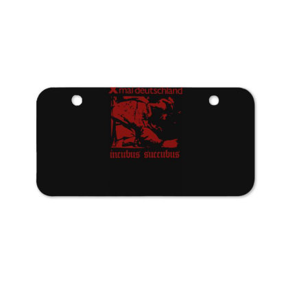 Xmal Deutschland Incubus Succubus Gothic Rock Band Bicycle License Plate Designed By Lyly