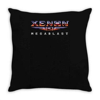 Xenon 2 Megablast Gaming Throw Pillow Designed By Lyly