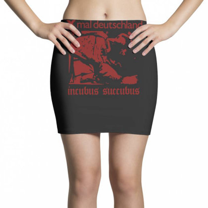 Xmal Deutschland Incubus Succubus Gothic Rock Band Mini Skirts Designed By Lyly