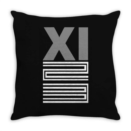 Xi Bred Throw Pillow Designed By Lyly