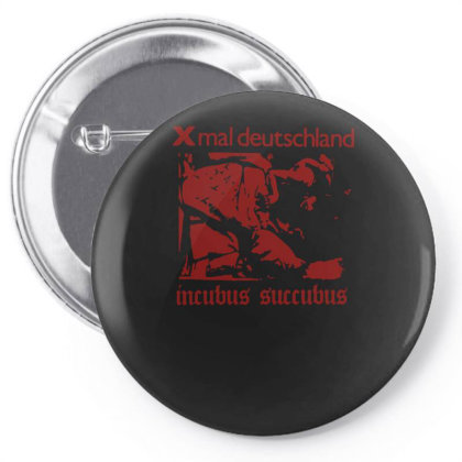 Xmal Deutschland Incubus Succubus Gothic Rock Band Pin-back Button Designed By Lyly